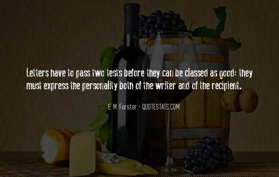Quotes About Personality Tests #1101484