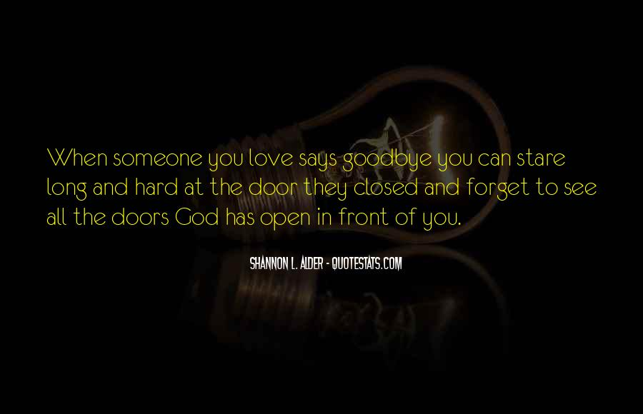 Quotes About Letting Go Of Someone You Love #1378357