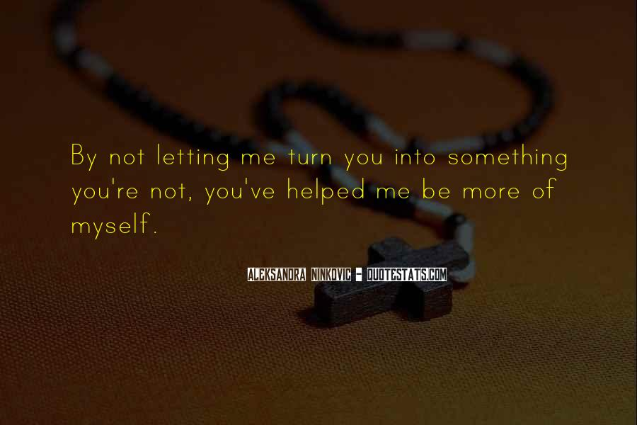 Quotes About Letting Go Of Someone You Love #202911