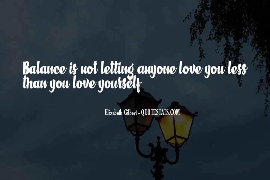 Quotes About Letting Go Of Someone You Love #96938