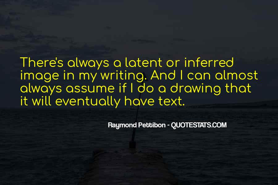 Quotes About Assuming #16167