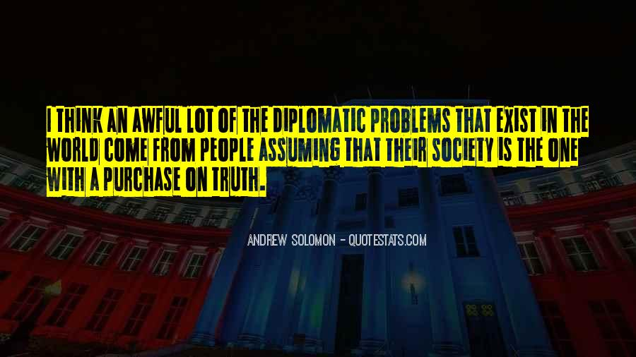Quotes About Assuming #168183