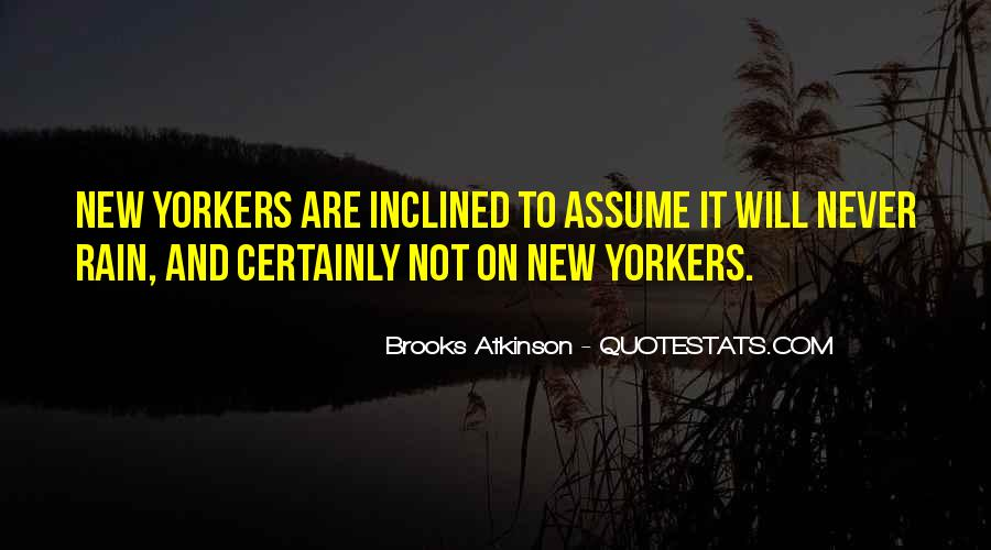 Quotes About Assuming #254089