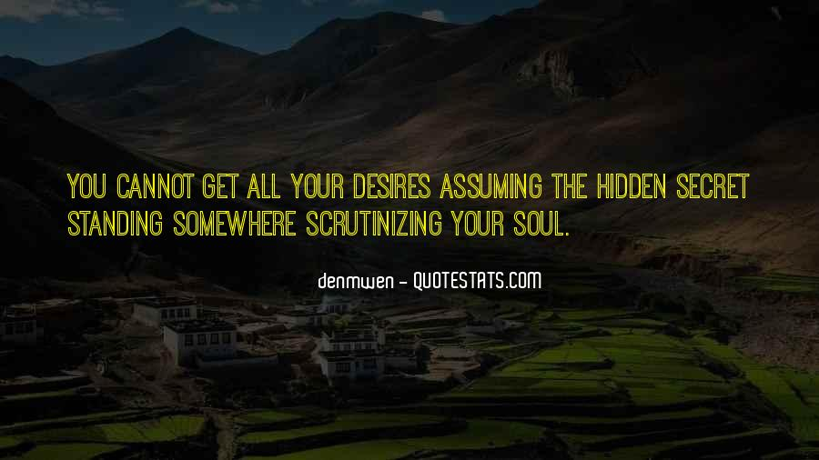 Quotes About Assuming #296555