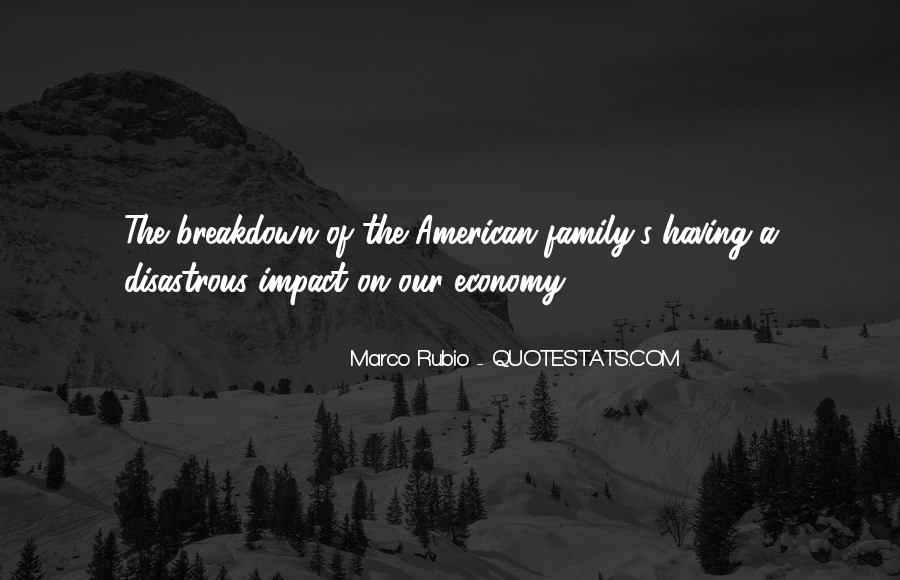 Quotes About Family Breakdown #712346