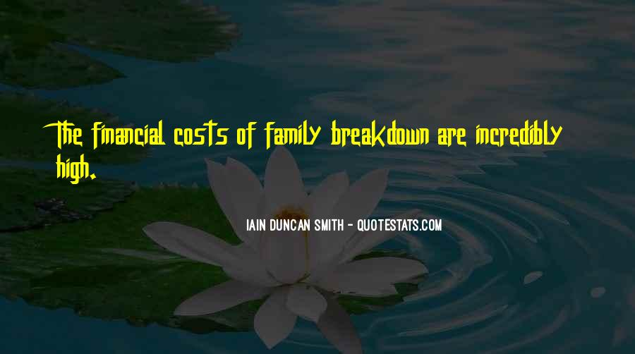 Quotes About Family Breakdown #715935