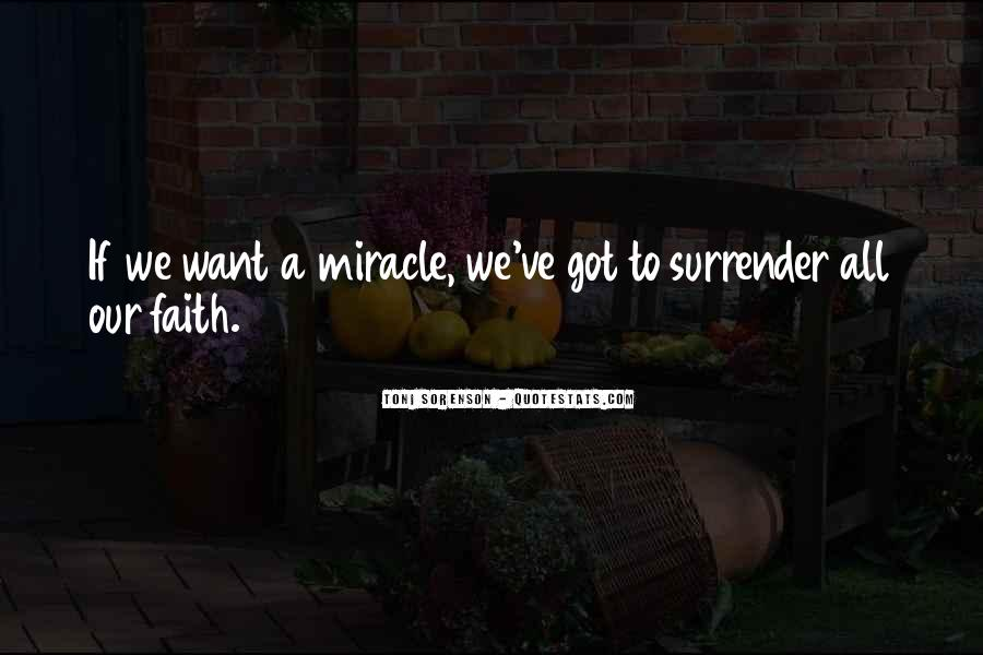 Quotes About Surrender To God #136457