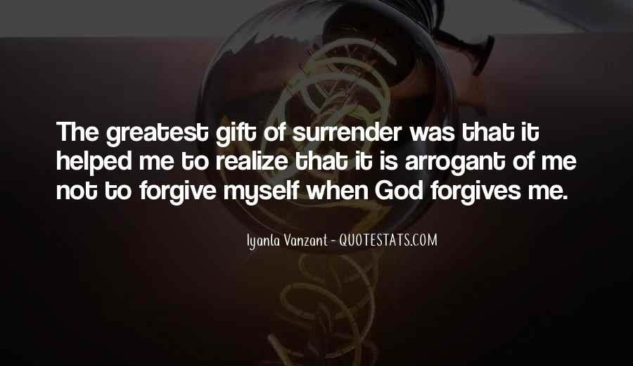 Quotes About Surrender To God #154777