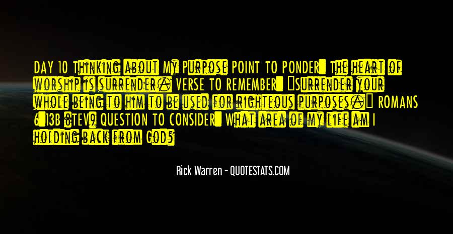 Quotes About Surrender To God #1714