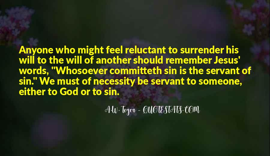 Quotes About Surrender To God #225722