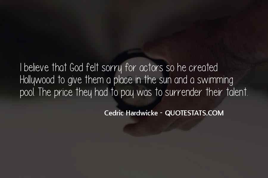 Quotes About Surrender To God #245837