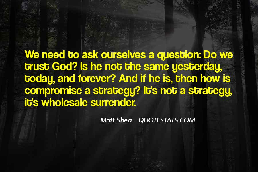 Quotes About Surrender To God #283338