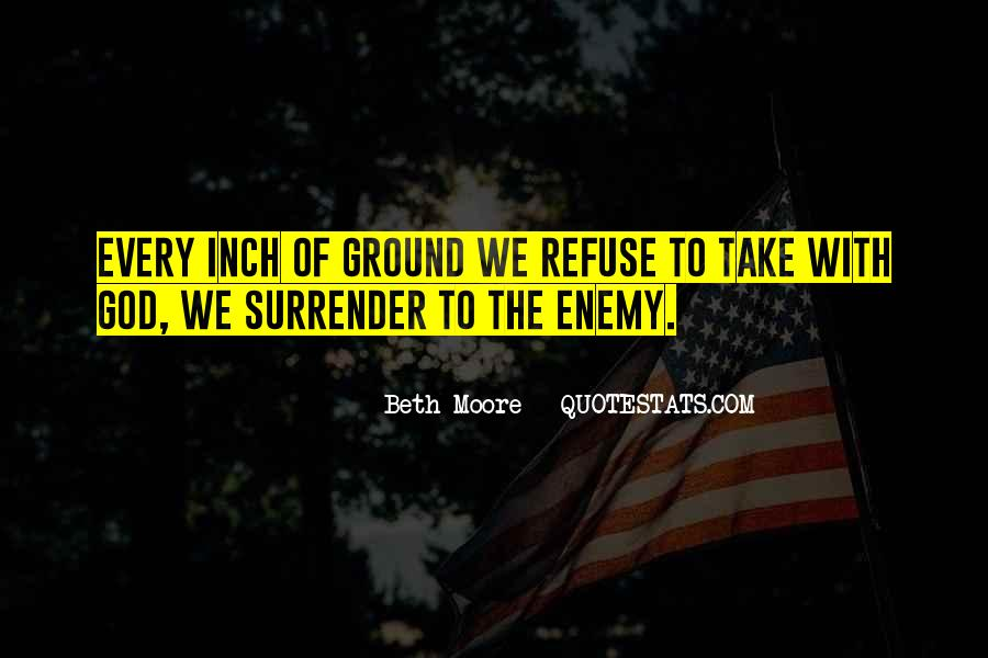 Quotes About Surrender To God #348564
