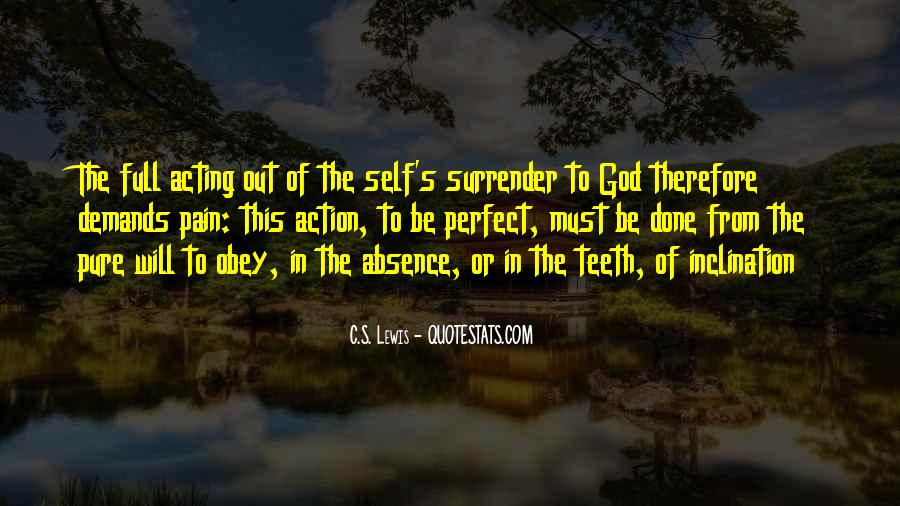 Quotes About Surrender To God #364370