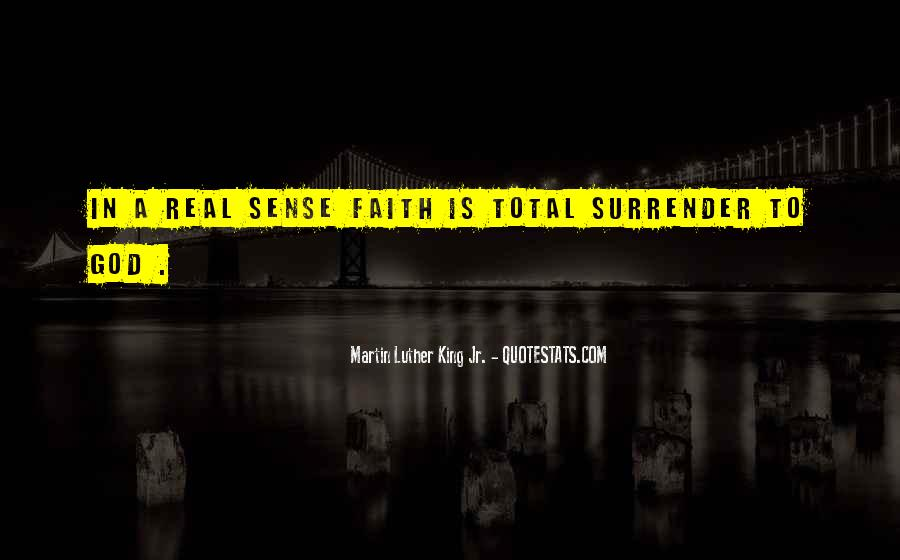 Quotes About Surrender To God #393086