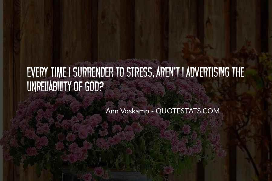 Quotes About Surrender To God #422457