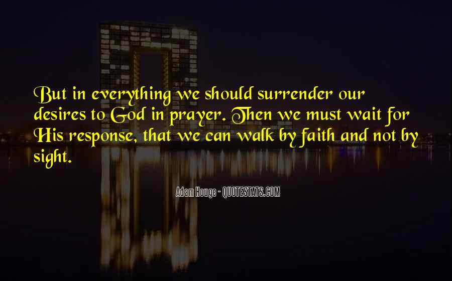Quotes About Surrender To God #440048