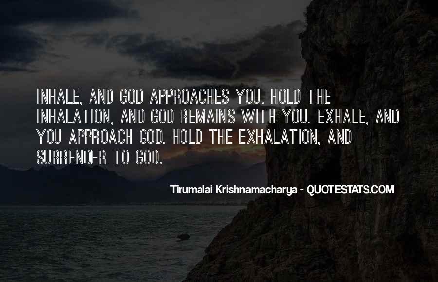 Quotes About Surrender To God #480031