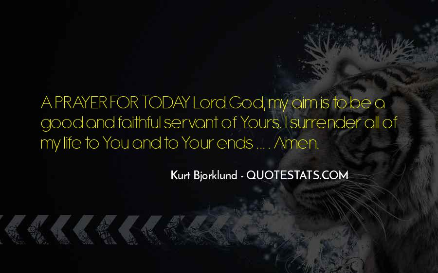Quotes About Surrender To God #494730