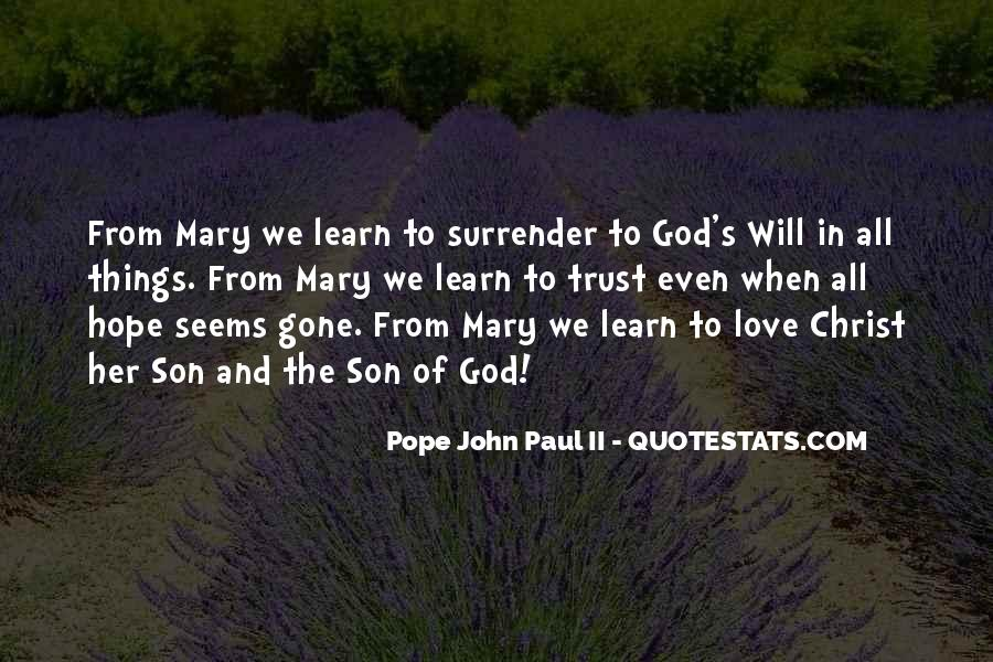 Quotes About Surrender To God #497135
