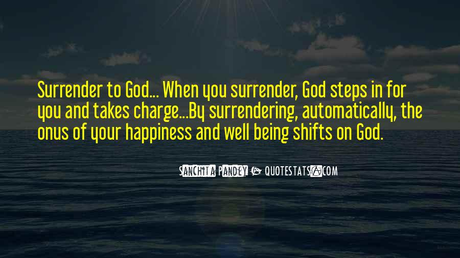 Quotes About Surrender To God #551322