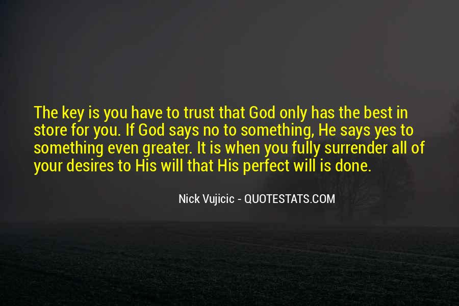 Quotes About Surrender To God #609854