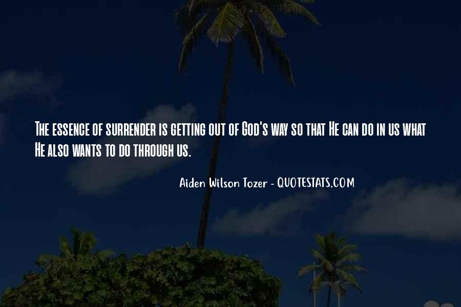 Quotes About Surrender To God #655059