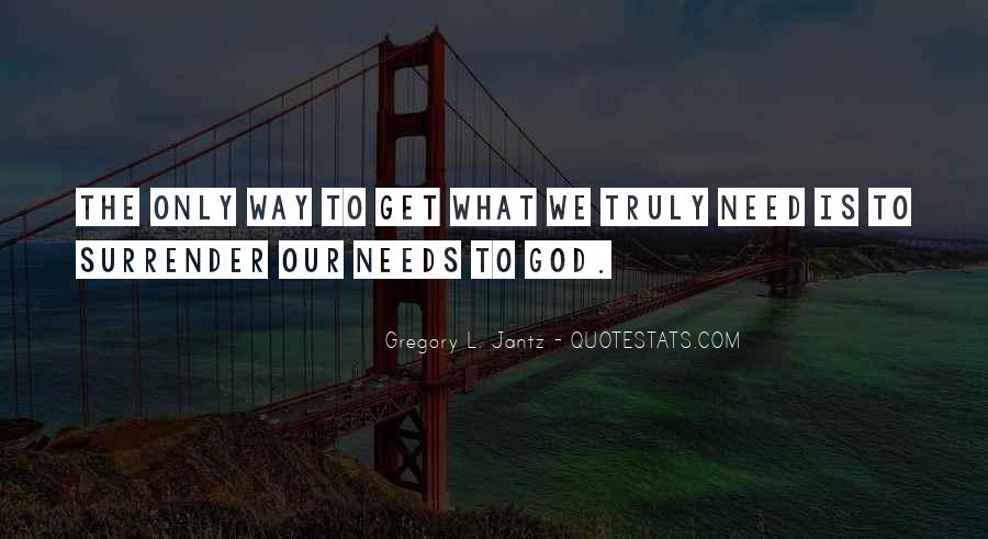 Quotes About Surrender To God #658365