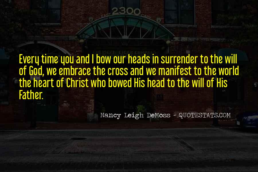 Quotes About Surrender To God #708930