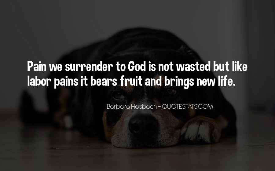 Quotes About Surrender To God #805575