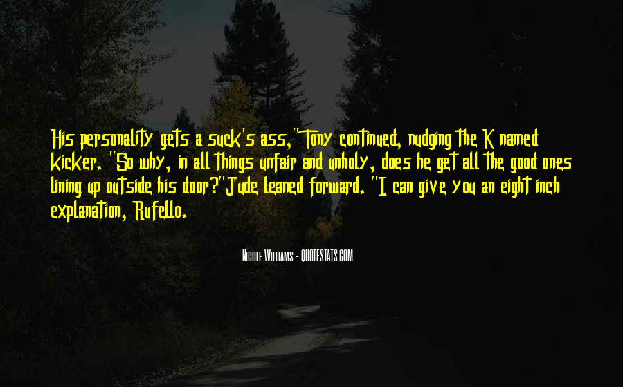 Quotes About Lining Up #1008322