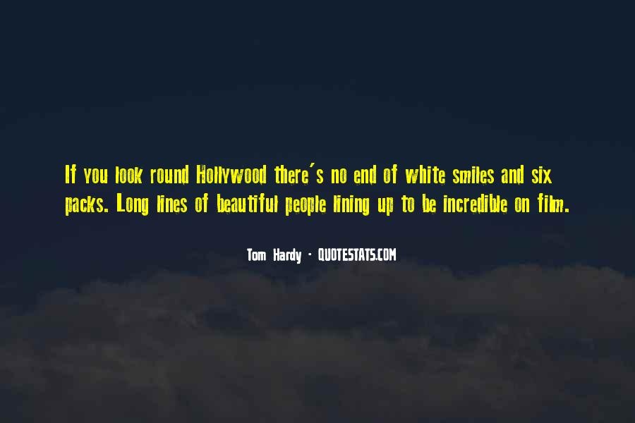 Quotes About Lining Up #1757170