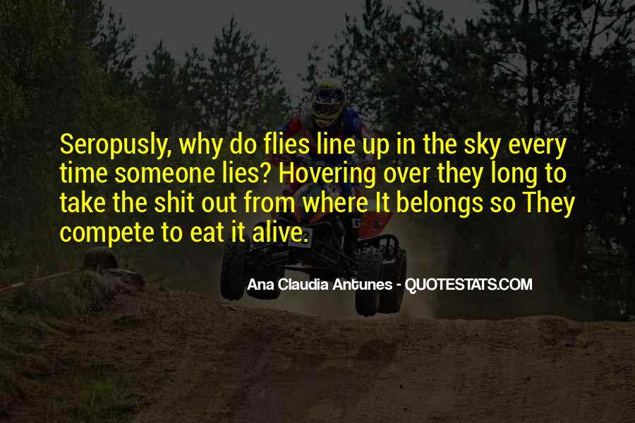 Quotes About Lining Up #364542