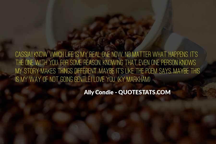 Top 34 Quotes About No One Knowing The Real You Famous Quotes