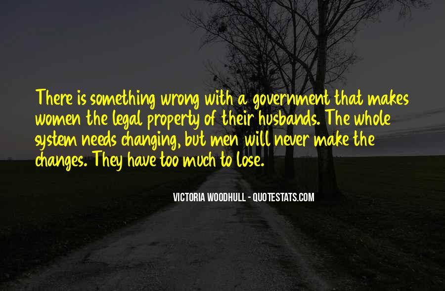Quotes About Never Changing #134737