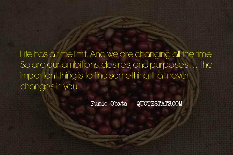 Quotes About Never Changing #542701