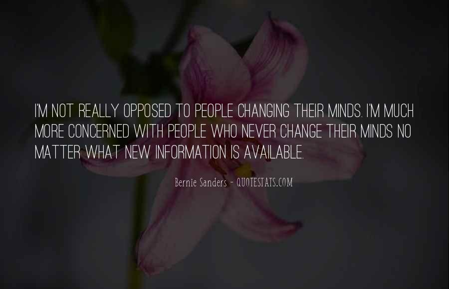 Quotes About Never Changing #635430