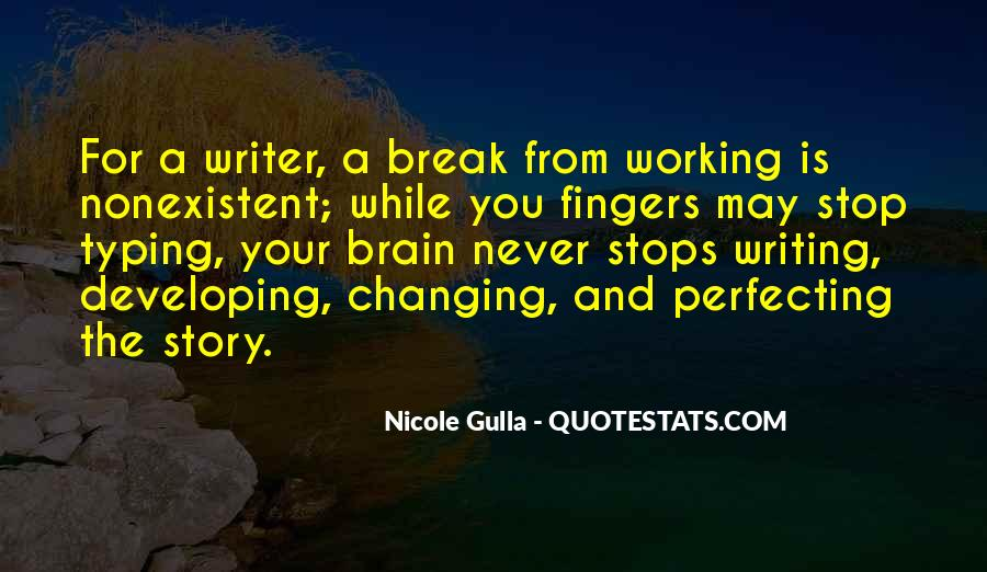 Quotes About Never Changing #696499
