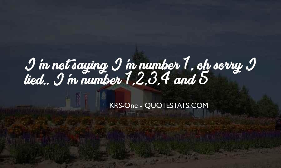 Quotes About Number 3 #1013518