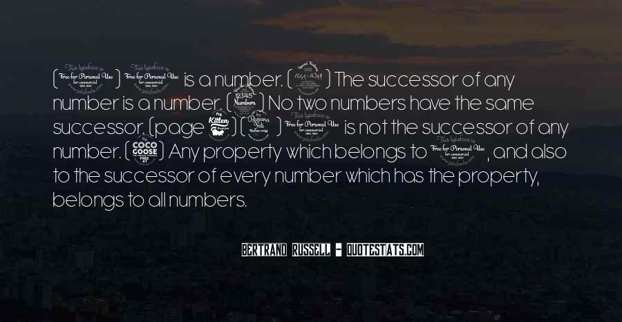 Quotes About Number 3 #1577830