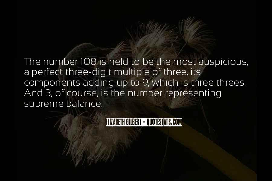 Quotes About Number 3 #1593662
