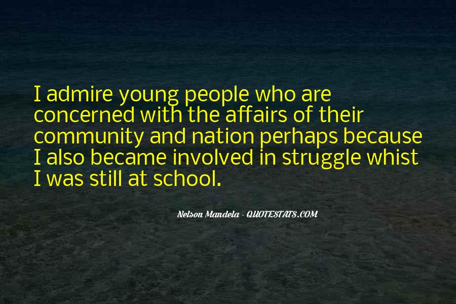 Quotes About Struggle In School #170563