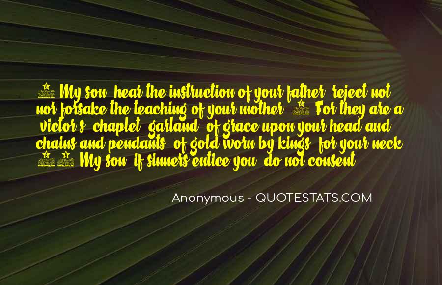 Quotes About My Son's Father #1140592