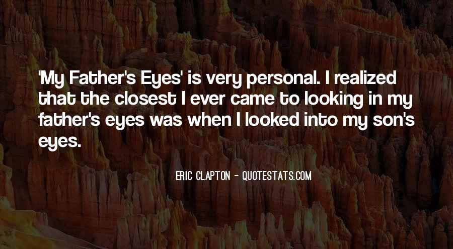 Quotes About My Son's Father #21355