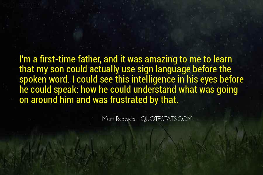 Quotes About My Son's Father #365810