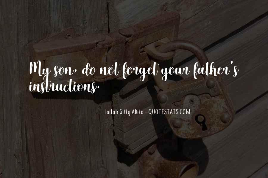 Quotes About My Son's Father #990733