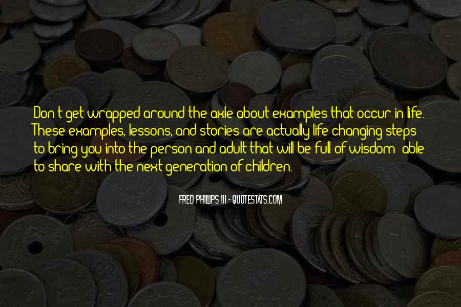 Quotes About One Person Changing Your Life #1401853