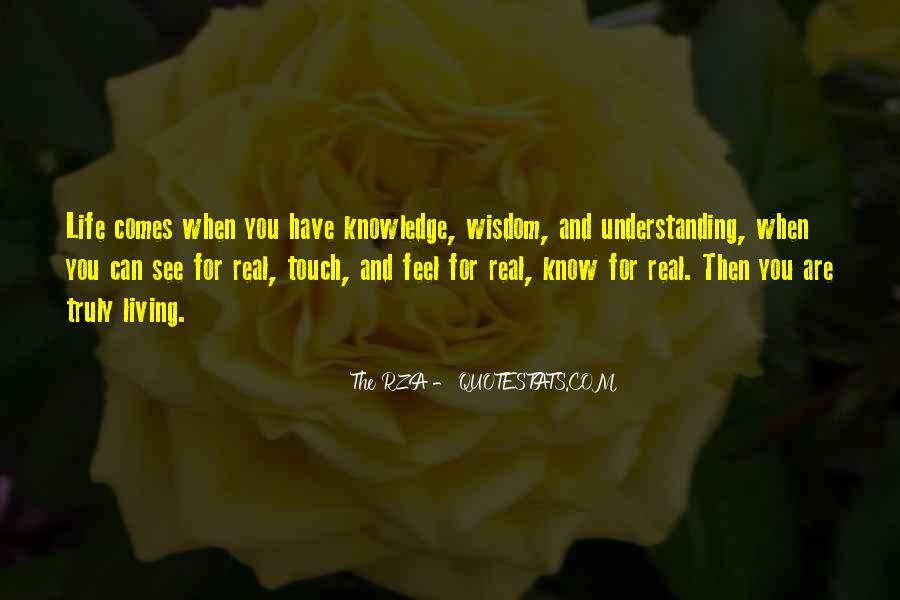Quotes About Wisdom Knowledge And Understanding #298131
