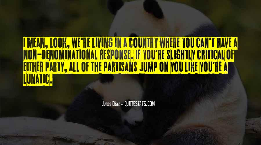 Quotes About Living Your Country #169858