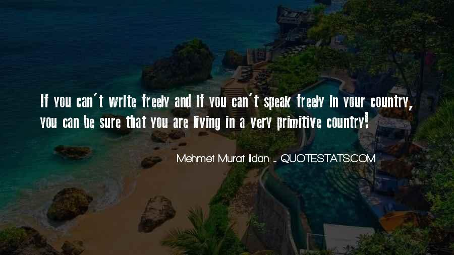 Quotes About Living Your Country #269199
